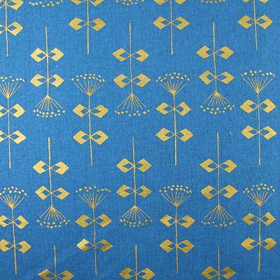 adlico-coton-riflepaper-bleu-or