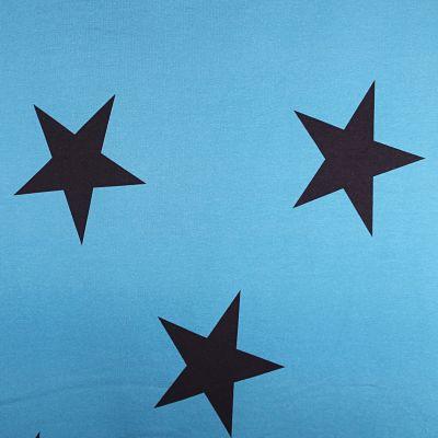 lapandalovefabrics-sweat-etoile-bleu