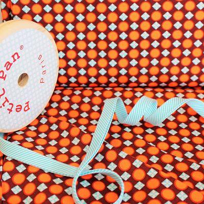 petit-pan-coton-trefle-terre-orange-fluo