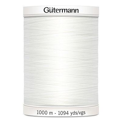 Gutermann-polyester-1000m-blanc