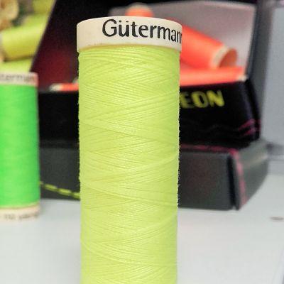 Gutermann-polyester-100m-neon-jaune-fluo