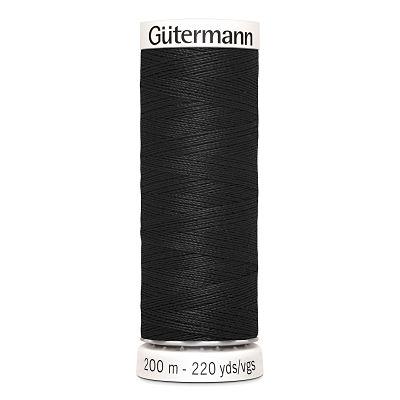 Gutermann-polyester-200m-000-noir