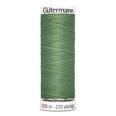 Gutermann-200m-fil-polyester-vert-821