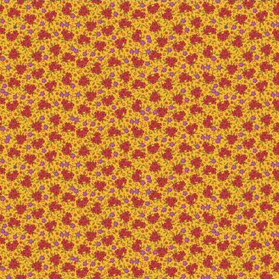 odilebailloeul-coton-jaune-rouge-violet-vert-orange-fleur