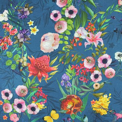 stenzo-jersey-fleurs-bleu-multicolore