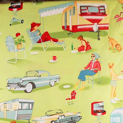 michael-miller-coton-caravene-camping-barbecue-vintage-travel