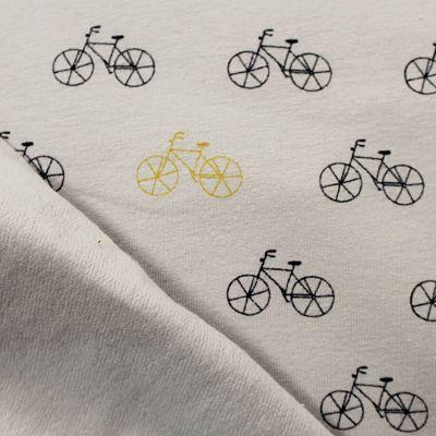 sweat-gris-velo-jaune-bike