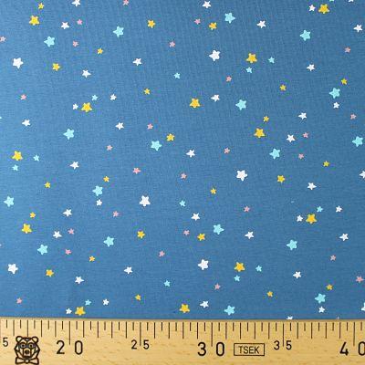 jersey-bleu-etoile-turquoise-jaune-corail-bio-gots-