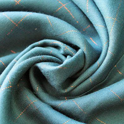 eglantine-et-zoe-viscose-serge-carreaux-bleu-petrole-cuivre