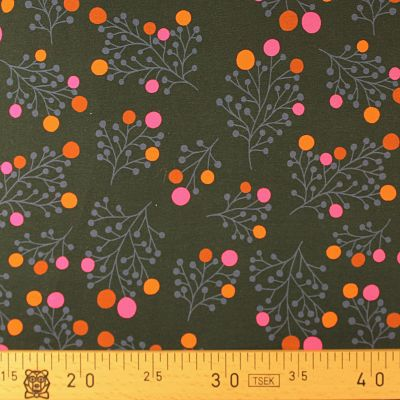 abl-stoffe-sweat-plain-stitches-pois-rose-orange-feuillage-noir-bio-papa-ours