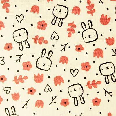 coton-sweet-bunny-lapin-coeur-fleur-rose