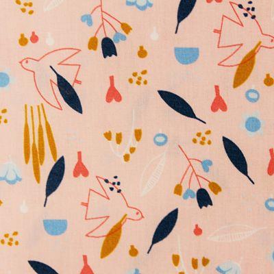 coton-sweet-little-birds-oiseau-rose-