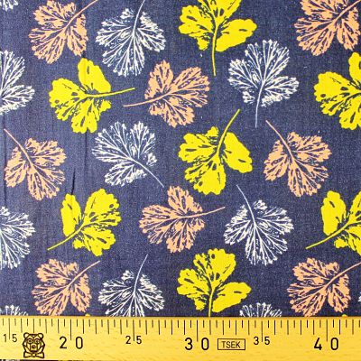 la-panda-love-fabrics-double-gaze-bio-coton-fall-leaves_jaune-corail