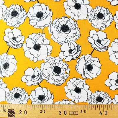 la-panda-love-fabrics-double-gaze-jaune-pivoine-bio-coton