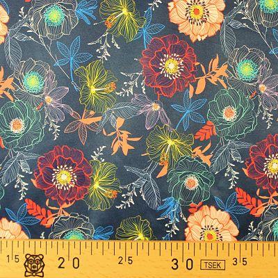 lapandalovefabrics-pul-flowers-on-navy-marine-impermeable