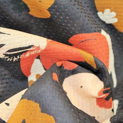 atelier-brunette-viscose-plumetis-posie-blue-rouille-ocre