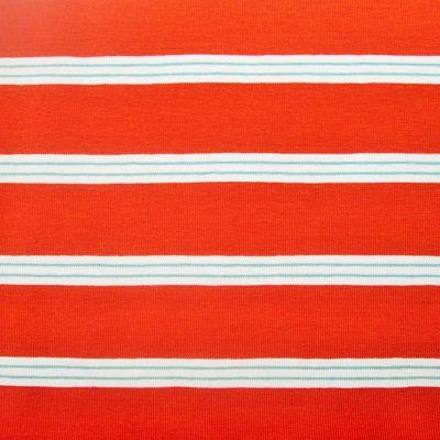 jersey-rayure-orange-terre-blanc-mint-menthe-oeko-tex