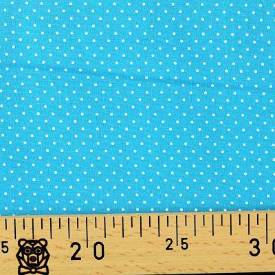 coton-pois-mini-dots-turquoise