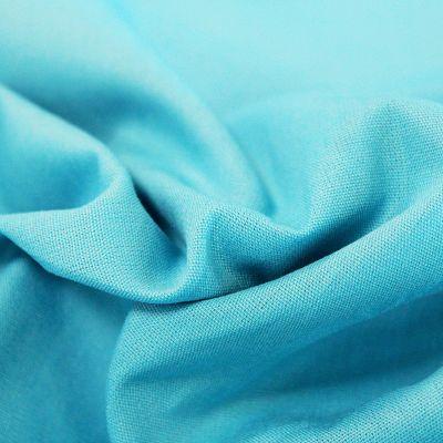 coton-uni-bleu-turquoise