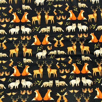 jersey-foret-animaux-renard-cerf-loup-noir-winter