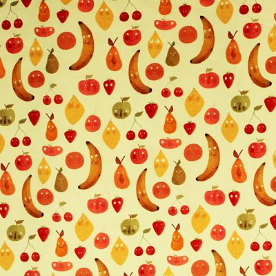 lillestoff-jersey-bio-fruits-banane-poire-citron-pomme