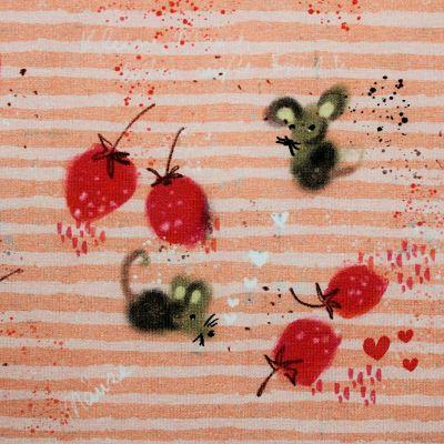 lillestoff-jersey-bio-rayure-rose-rouge-fraise-souris