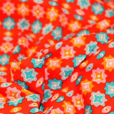 petit-pan-coton-maija-rouge-orange-turquoise-fleurs