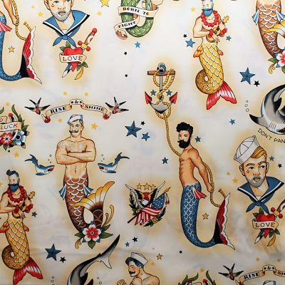 alexander-henry-rise-mermen-triton-old-school-tatouage-marin-mer