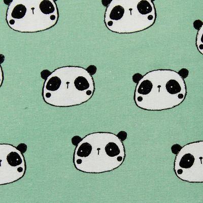 flanelle-panda-vert-pyjama-bebe-enfant-doux