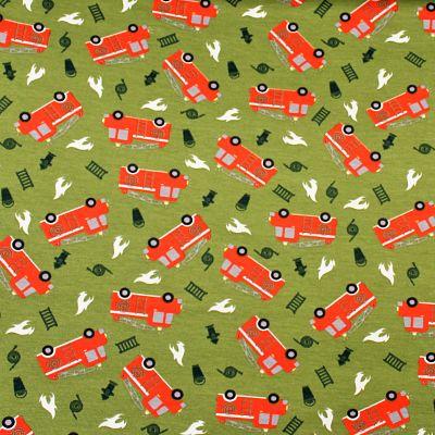 jersey-pompier-fire-truck-kaki-coton-camion-rouge