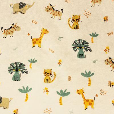jersey-safari-coton-beige-girafe-tigre-palmier-savane