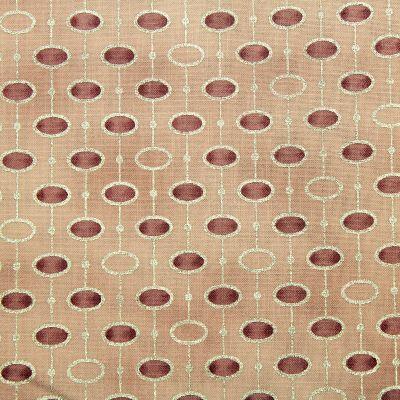 tissu-noel-stof-rond-vieux-rose-argent