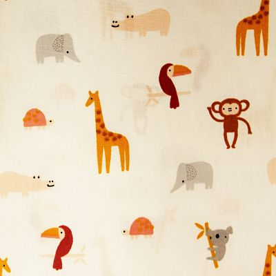 coton-happy-animals-blanc-girafe-singe-elephant-toucan