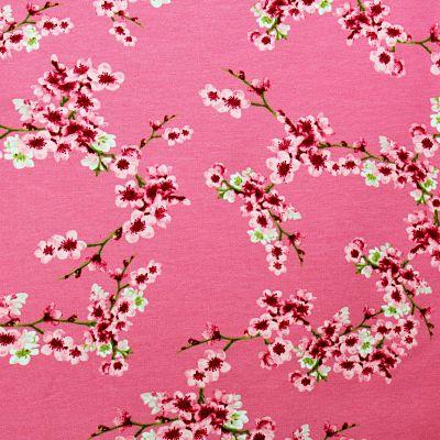sweat-fleur-cerisier-rose-molleton