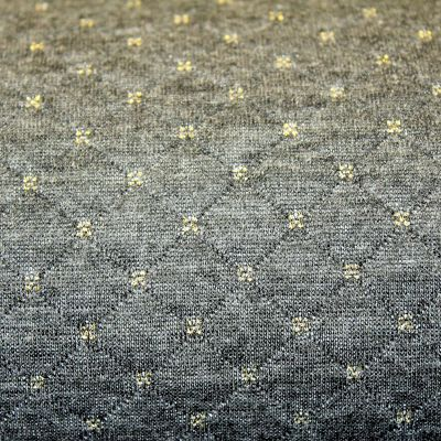 sweat-matelasse-gris-anthracite-or-rayure