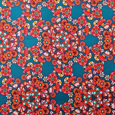 odile-bailloeul-coton-bio-fleur-de-paillettes-rouige-bleu-retro-circus