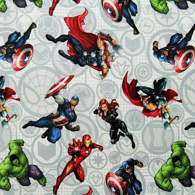 coton-marvel-avengers-hulk-captain-america-spiderman