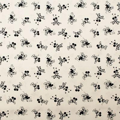 coton-mickey-noir-blanc-disney