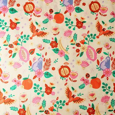 katia-coton-tulum-fruits-rose-poire-feuille-oiseau