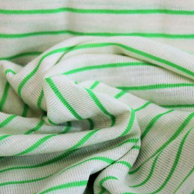 katia-jersey-vert-fluo-green-rayure