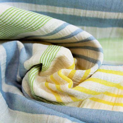 katia-coton-panama-stripes-rayure-vert-bleu-jaune