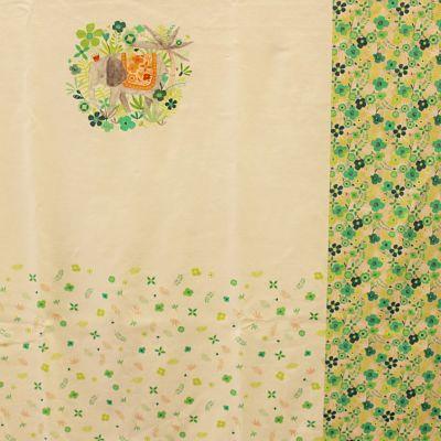 katia-jersey-panneau-t-shirt-elephant-fleurs-vert