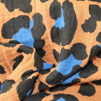 double-gaze-leopard-camel-bleu-electrique-tache