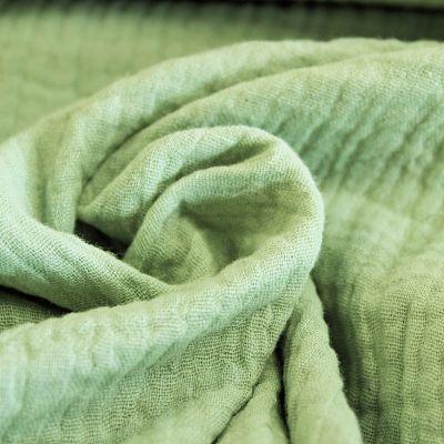 double-gaze-coton-vert-mint
