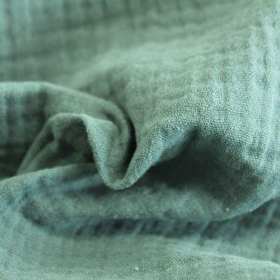 double-gaze-coton-vert-gris