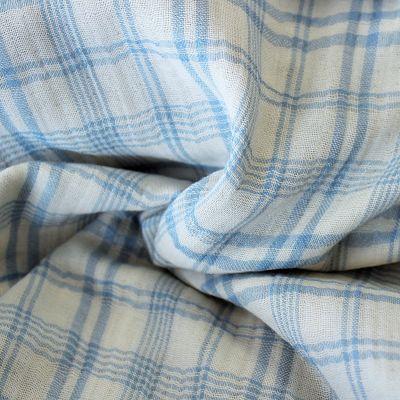 katia-mousseline-coton-carreaux-bleu-tartan