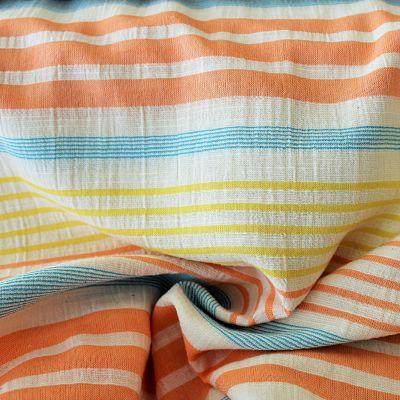 katia-rayure-panama-orange-bleu-jaune