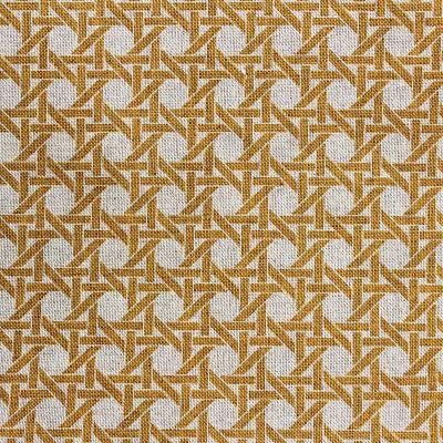 coton-cannage-moutarde-aspect-lin