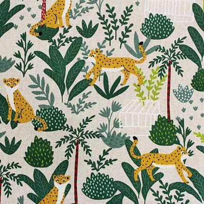 toile-leopard-jungle-house-aspect-lin-ameublement