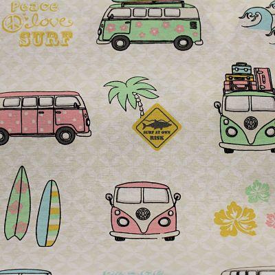 toile-vw-summer-pastel-combi-van-rose-surf